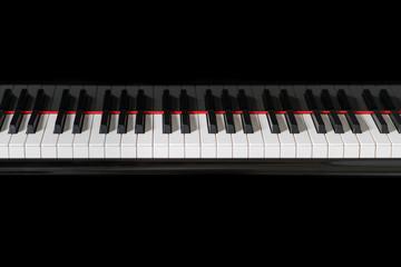 Piano Instrument Keys