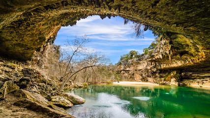Keuken foto achterwand Texas Hamilton Pool Texas