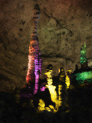 Yellow Dragon Cave: The wonder of the world's caves at Zhangjiajie, Hunan Province, China