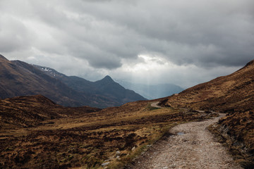 Pap of Glencoe, Highlands of Scotland