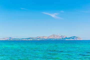 Alcudia bay at Mallorca, Spain