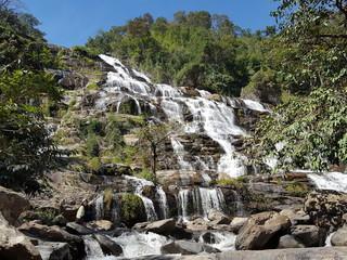 Mae Ya Waterfall in Chiang Mai Thailand