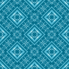 Seamless arabic lace ornamental pattern