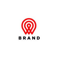 Pin Target Logo.