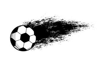 Vector Footbal emblem.Vector symbol of soccer ball