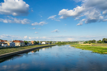 Lithuania, View over Kaunas City and Neman river