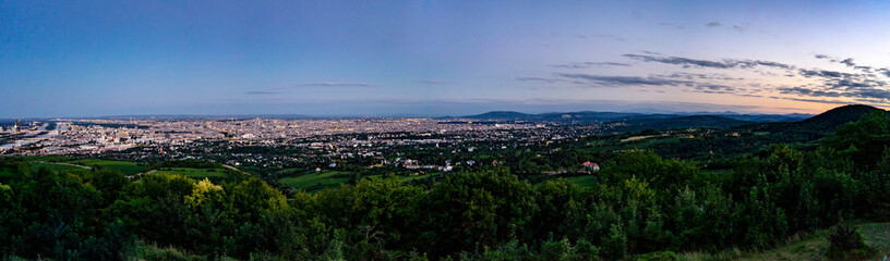 Vienna panorama View