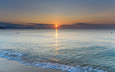 Tropical Sunrise Seascape