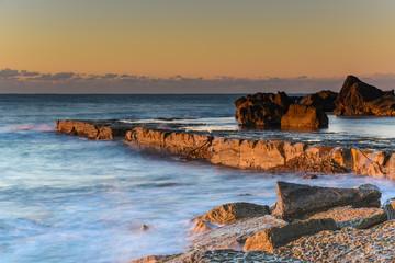 Sunlight, Sea and the Rocks