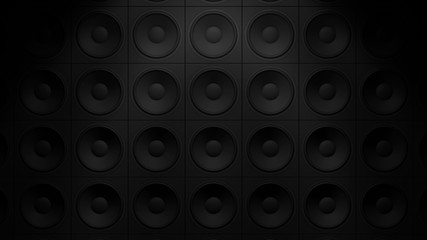 Lautsprecher Wand