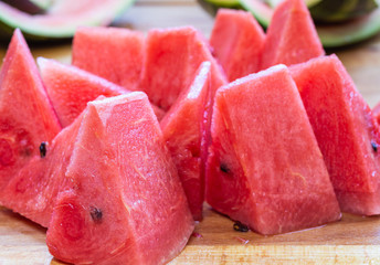 Close Up Of Sliced Watermelon 2