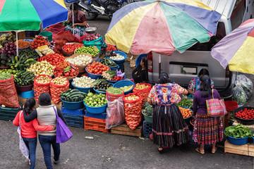 El Mercado La Democracia, Quetzaltenango, Guatemala