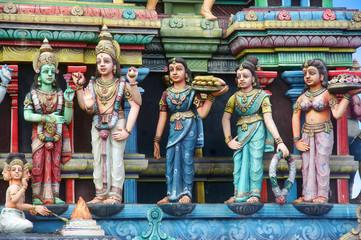 La Réunion - Temple tamoul à Saint-Leu