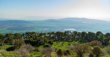Wiew at far from Mount Tabor
