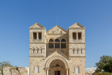 Main church at Mount Tabor