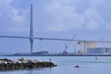 Cadiz puente nuevo la Pepa