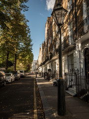Kensington side street, London