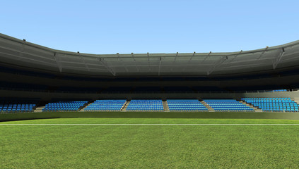 3D rendering , Football stadium background for world cup theme.