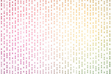 Colorful arrow pattern background