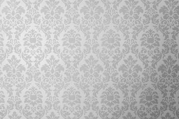 papel de parede retrô preto e branco Wall mural