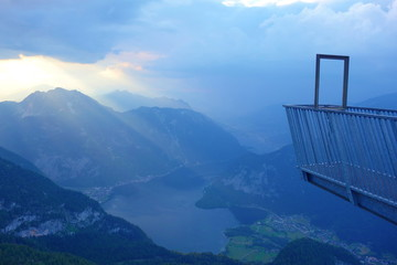 """5 Fingers is a free viewing platform in the Dachstein Mountains of Upper Austria, on Mount Krippenstein. It was named """"5 Fingers"""" by virtue of its hand-like shape."""