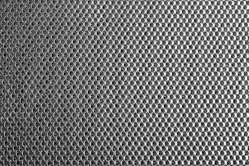 Metal grid close-up. Abstract background