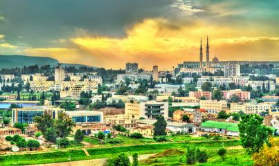 Printed roller blinds Algeria Skyline of Constantine at sunset. Algeria