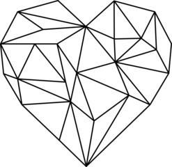 Herz Geometrisch