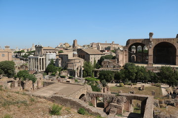 Roman Forum in Rome is the oldest Roman forum, Rome Italy