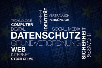Textcloud Datenschutzgrundverordnung