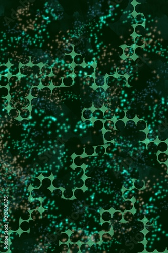 dots and abstract pattern in grid type design for background papers