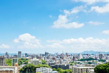Wall Mural - 福岡市 都市風景