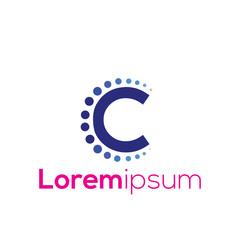 C Letter vector Logo Icon element. C Letter design collection. Vector illustration