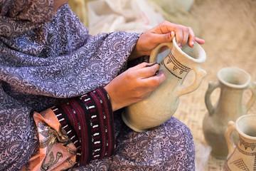 Ancient Pottery Technique, Kalporagan, Sistan and Baluchistan, Iran