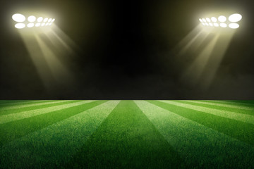 abstract stadium in the night backgrounds