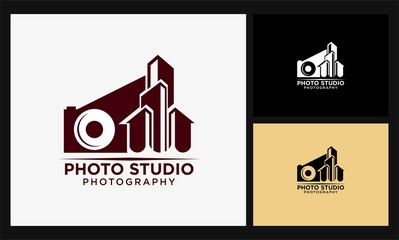 building photo studio logo