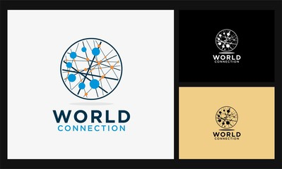 world connect network logo