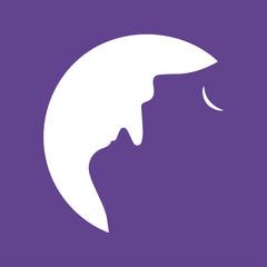 Men howl moon