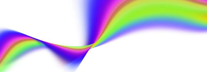 regenbogen wellen abstrakt zeichen konzept