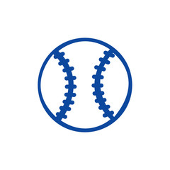Baseball Icon. Vector EPS