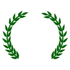 Laurel wreath Icon. Vector EPS 10