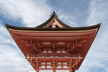 Niomon gate of Kiyomizudera, Kiyomizu-dera, Temple, Kyoto, Japan, Asia