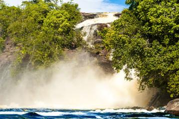 Salto Ucaima in Laguna de Canaima, Venezuela