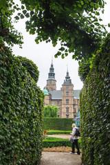 Garden of Rosenborg Castle