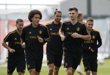 Soccer Football - World Cup - Belgium Training