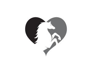 Horse Logo Template Vector icon