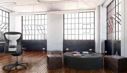 Postindustrial Office Area (concept)