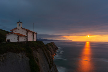 Chapel of San Telmo, Zumaia, Basque Country, Spain