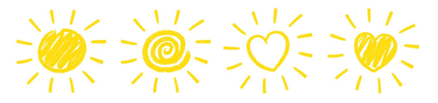 Sun Scribble