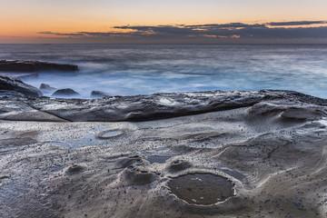 On the Ledge - Sunrise Seascape